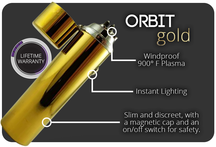 The Elektro Orbit: perfect lighter for bowls & pipes